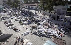 Tragédia na Haiti.
